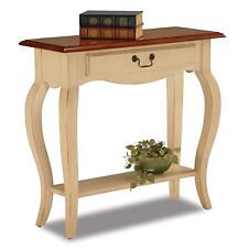 French Hall Console Table Old Fashion Drawer Foyer Storage Furniture Shelf Entry