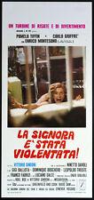 l'affiche du film LA DAME ET' VIOLÉES tiffin,garcia,montesano,SINDONI