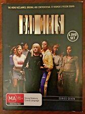 BAD GIRLS SERIES SEVEN (7) 4 DVD SET BOX SET ALL REGIONS 0 LIKE NEW