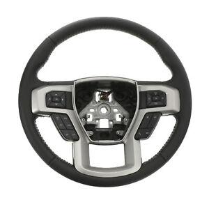 2017-2019 Ford F-250 F-350 Super Duty Leather Steering Wheel OEM NEW HC3Z3600EB