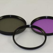 Set of 3 Filters + 58mm Lens Adapter + Hood Fuji SL1000 S9400 S9200 S8400 S8500