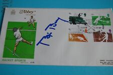 BJORN BORG SIGNED 1977 RACKET SPORTS FDC 7