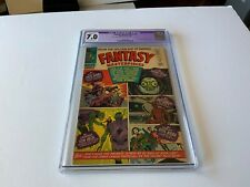 FANTASY MASTERPIECES 1 CGC 7.0 RESTORED GRADE MARVEL COMICS
