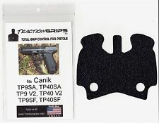 rubber grip tape for Canik TP9SA, TP9 V2, TP9SF, TP9SFX, and TP9DA grips