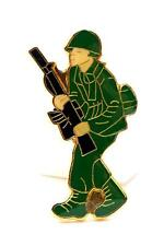 US Army Man Soldier Lapel Hat Pin Military PM1952
