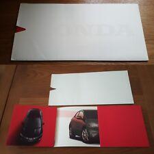 New Honda Civic Range Brochure 2005/06c UK Market Preview Introduction