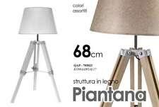 LAMPADA INTERNO PIANTANA STRUTTURA IN LEGNO 68 CM ARREDAMENTO QAP-705021