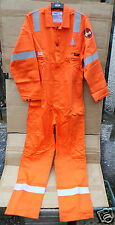 """'ROOTS' COVERALL STYLE FRA 16 -DESIGNED FOR OFFSHORE RIG WORKERS -46""""CHEST"""