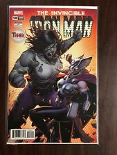 INVINCIBLE IRON MAN #598 MIGHTY THOR VARIANT FIRST PRINT MARVEL (2018) SHE HULK