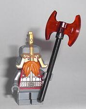 LEGO Hobbit - Dain Ironfoot - Figur Minifig Zwerg Dwarf Herr der Ringe 79017