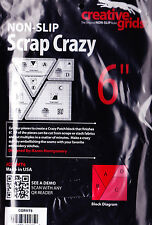 "Scrap Crazy 6"" Template Set - four pieces from Creative Grids"