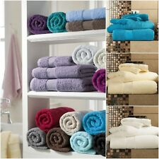 Miami Hotel Quality 100% Egyptian Cotton Super Soft  Pieces BATH SHEET Bale Set