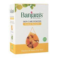 Banjara's Pure Herbs Kasturi Turmeric Skin Care Powder 100 gm 100% Natural