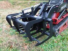 "Toro Dingo Mini Skid Steer Attachment 42"" Root Rake Grapple Bucket - Ship $149"
