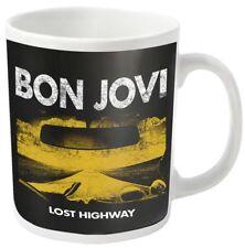 Bon Jovi 'Lost Highway' Mug - NEW