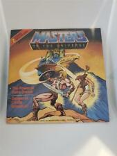 Comic Book & Record Set - MOTU Point Dread & Danger at Castle Grayskull - He-Man