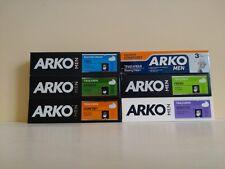 6 x 100ml Arko Shaving Creams from Turkey (one of each) UK STOCK