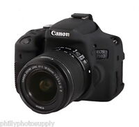 easyCover Armor Protective Skin for Canon EOS Rebel T6i Black - Free US Shipping