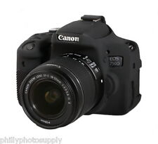 easyCover Armor Protective Skin for Canon EOS Rebel T6i / 750D (Black)
