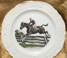 Delano Studios Decorative Plate Hunter Jumper