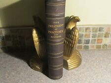 RARE The Treatment of Fractures by Scudder, Charles Locke 1905 Medical Leather