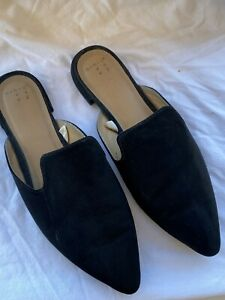 Details about  /Women/'s Micah Pointy Toe Loafers Graphite Snake Gray Size 7.5 A New Day