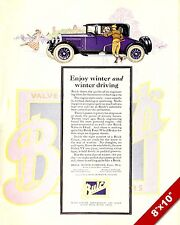 1925 BUICK CLASSIC AMERICAN MADE CARS PAINTING VINTAGE CAR AD ART PRINT