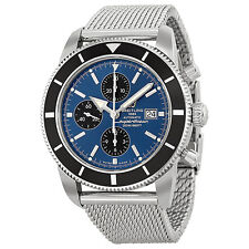 Breitling Superocean Heritage Chronographe Blue Dial Automatic Mens Watch