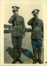 Inter War Royal engineers buglers At Blackdown Camp 1930