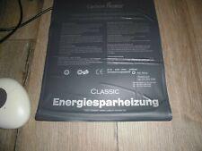 Wasserbett Heizung Carbon Heater Heizmatte Ernegiersparend inkl. Bedienteil  TOP