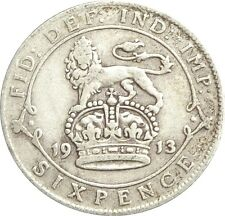 More details for 1911 to 1919 george v lucky silver sixpences choice of year / date