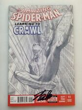 THE AMAZING SPIDER-MAN #1.1•SKETCH•1:200•STAN LEE SIGNED•COA•ALEX ROSS VARIANT