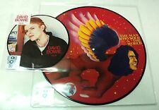 "DAVID BOWIE RSD 2016 TVC15 7"" & MAN WHO SOLD THE WORLD PICTURE DISC SET"