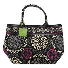 Vera Bradley Holiday Tote Canterberry Magenta  New With Tags, Retired, Exact