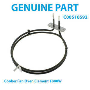 INDESIT IFW6330BLUK IFW6330IX IFW6330IXUK Cooker Fan Oven Element 1800W