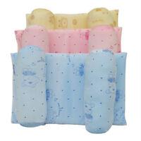 Toddler Baby Roll Pillow Safe Anti-Head Fixed Cotton Adjustable Sleep Flat Pillo