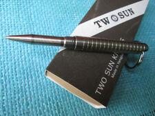 Twosun EDC Micro Mini TC4 Titanium Alloy Tactical Lock Key Ring Pen TS-PEN08