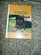 """The Proper Car of Rottweilers """"HARD COVER DOG BOOK"""" - FULL COLOR PAGES"""