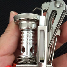 Mini Outdoor Camping Hiking Picnic Gas Cooking Food Water Stove Windproof YT