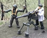 LEGO / MEGA BLOKS WW2 Squad US Army Minifigure Soldiers Lot 164