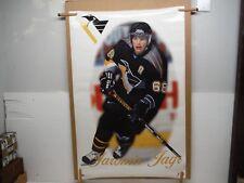 Pittsburg Penguins Jaromir Jagr 1998 Vintage Poster