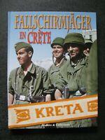 39/45 livre Fallschirmjager en Crète - Para Allemands WWII