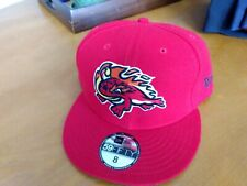 Florida Fire Frogs New Era cap hat size 8 NWT Atlanta Braves Rome Gwinnett MiLB