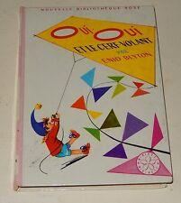 BIBLIOTHEQUE ROSE : OUI OUI et le CERF-VOLANT par Enid BLYTON 1967