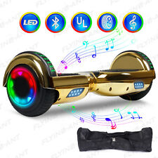 6.5'' Bluetooth Hoverboard Speaker Led Flashing Wheel Ul Listed Electric Scooter