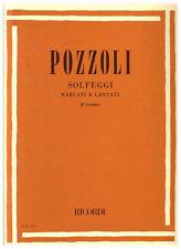 RICORDI Pozzoli, Ettore - SOLFEGGI PARLATI E CANTATI 2° CORSO
