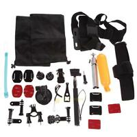 30in1 Pole Head Chest Mount Strap For GoPro Hero 3+ 4 Camera Accessories Set Kit