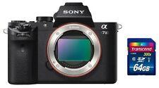 Sony Alpha ILCE-7M2 Body + 200€ Cashback + Zubehörpaket: inkl. 64GB SDXC ! A7 II