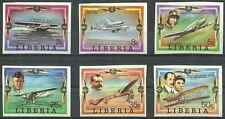 Timbres Avions Libéria 754/9 ** lot 17154
