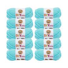 Lion Brand Yarn 205-102 DIYarn, Aqua (Pack of 10 skeins)